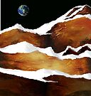 """""""Moon Over Planet X"""" by Patrice Baldwin"""