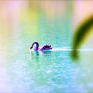 Like a wanderer , lost in Heaven  by Brian Bo Mei