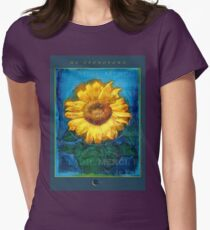 Ho'oponopono Tournesol Poster Women's Fitted T-Shirt