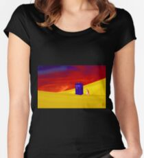 Searching for the Lost Companion Women's Fitted Scoop T-Shirt
