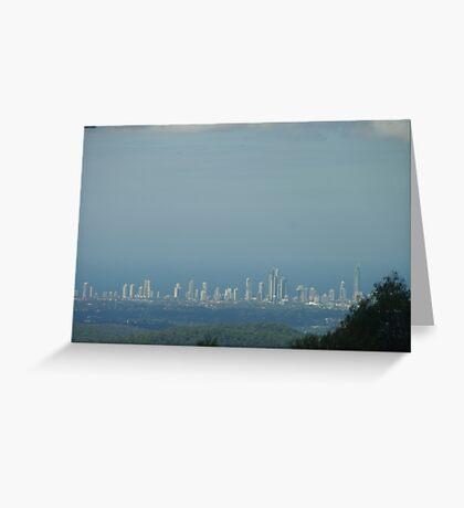 Surfers Paradise Skyline Greeting Card