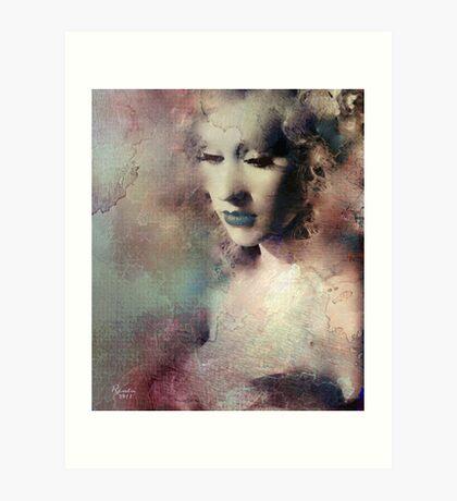 "Christina in ""Burlesque"" Art Print"