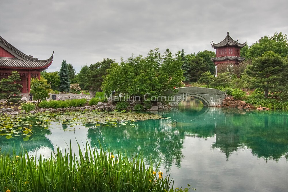 Montreal's Chinese Garden by Marilyn Cornwell