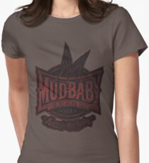 Mudbaby Vintage Distress Logo Tee Women's Fitted T-Shirt
