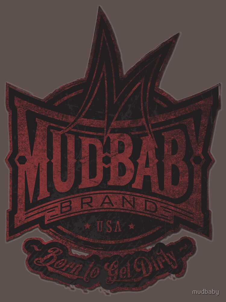 Mudbaby Vintage Distress Logo Tee by mudbaby