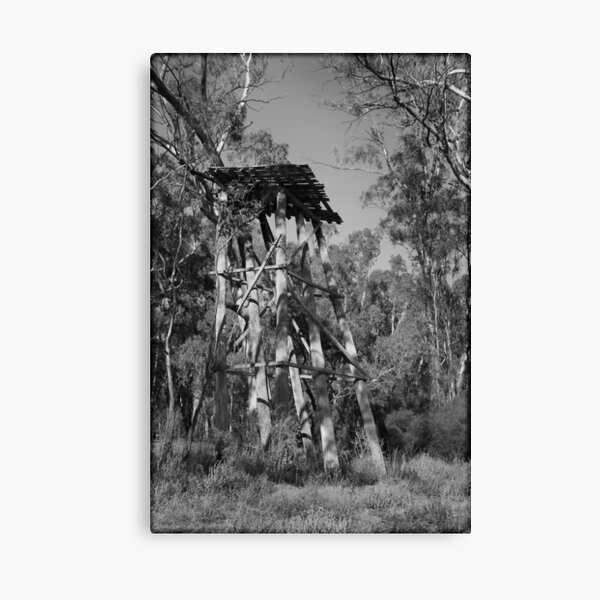 Gunbower Island ? Fire Spotting Tower Canvas Print