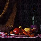 Peeling Apples by Gilberte