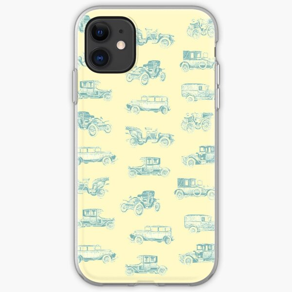 Vintage Cars iPhone Soft Case