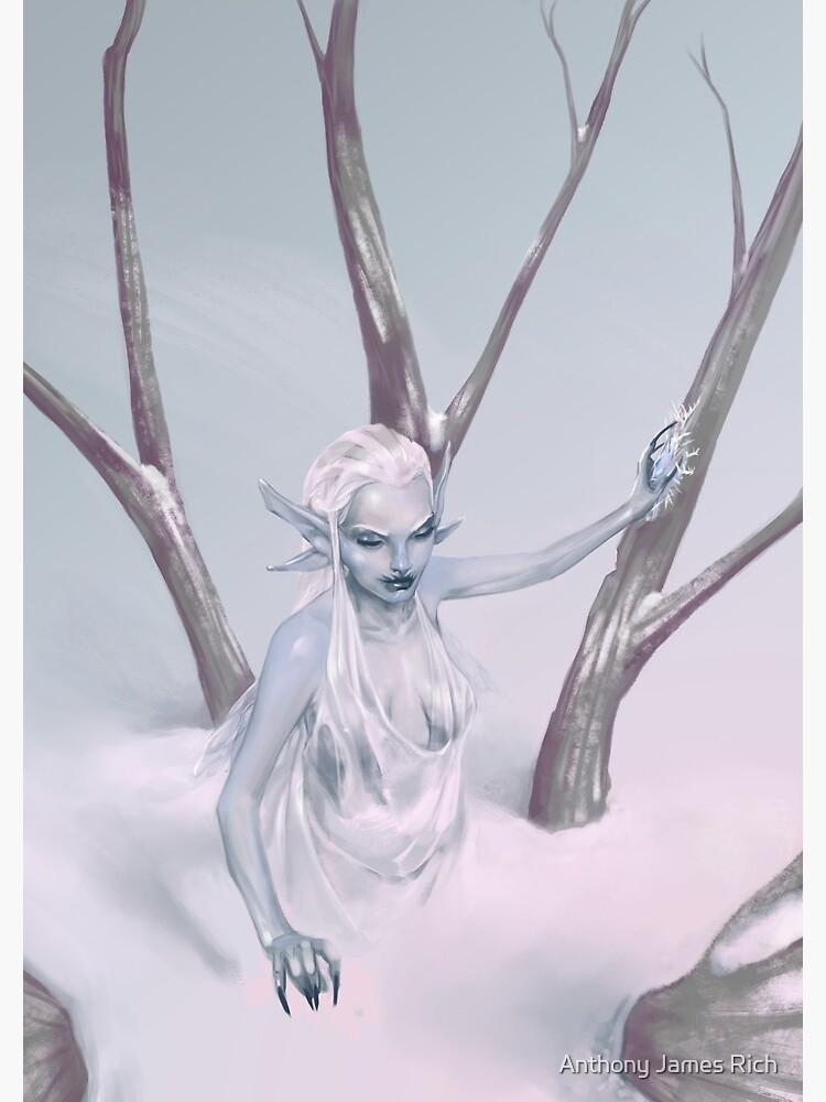 Snow Fairy | Digital Illustration by AJRart