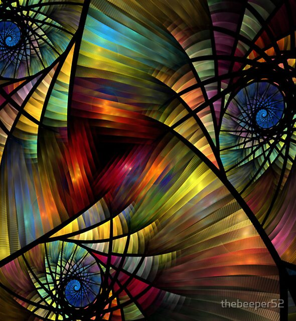 Stain Glass Curls by thebeeper52