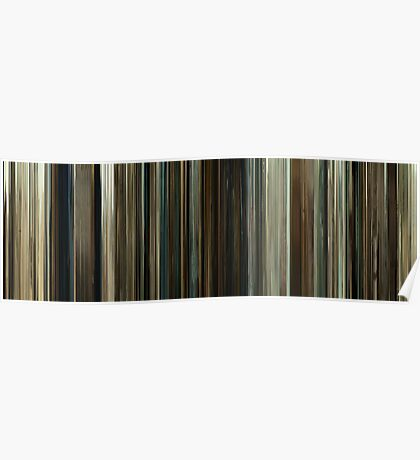Moviebarcode: No Country for Old Men (2007) Poster