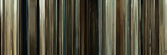 Moviebarcode: No Country for Old Men (2007) by moviebarcode
