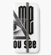 Tell me what you See iPhone Wallet/Case/Skin