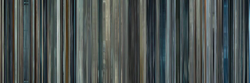 Moviebarcode: Moon (2009) by moviebarcode