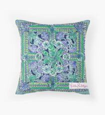 Lilly Pulitzer Escape Artist Throw Pillow