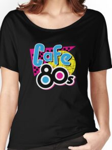 Cafe 80s Women's Relaxed Fit T-Shirt
