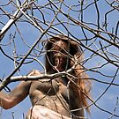 Fille des arbres. Tree girl by joseph Angilella AUQUIER