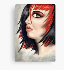 Red Highlights Canvas Print