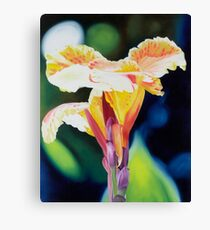 Tigerlily - oil painting of a vibrant lily Canvas Print