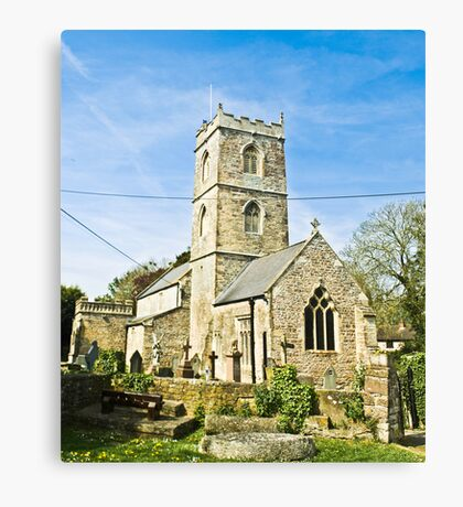 St Thomas the Apostle Church, Redwick Canvas Print
