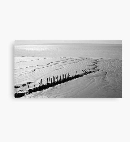 Mudflats Canvas Print