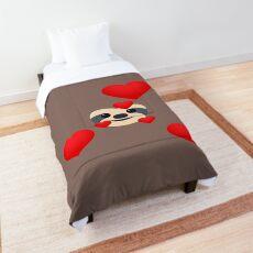 Emoji: Sloth love Comforter