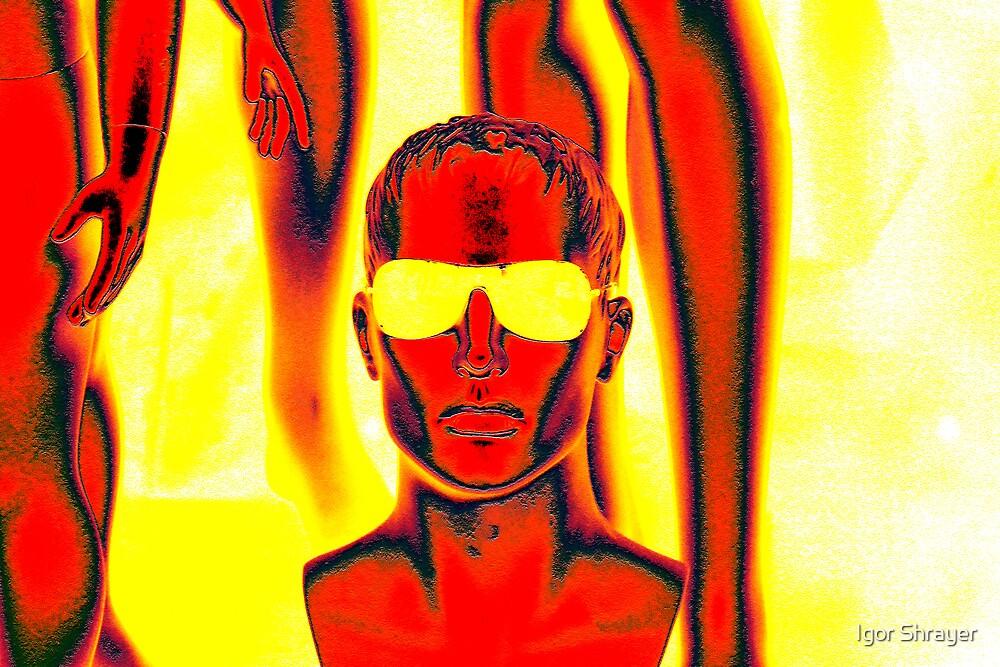 Yellow Sunglasses by Igor Shrayer