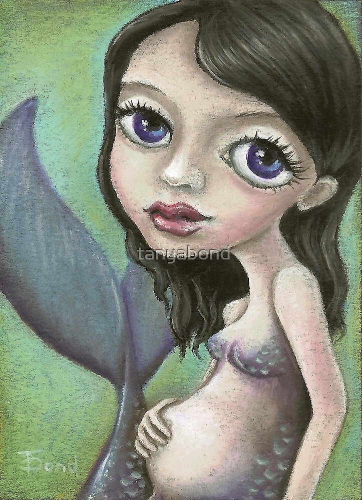 Pregnant mermaid by tanyabond