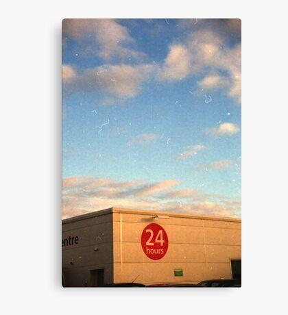 24 Hour Shopping Canvas Print