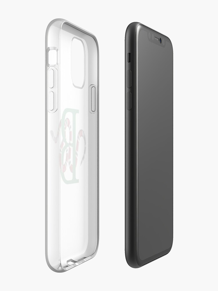 Coque iPhone « Serpent B », par Cabine