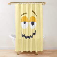Emoji: Woozy face Shower Curtain