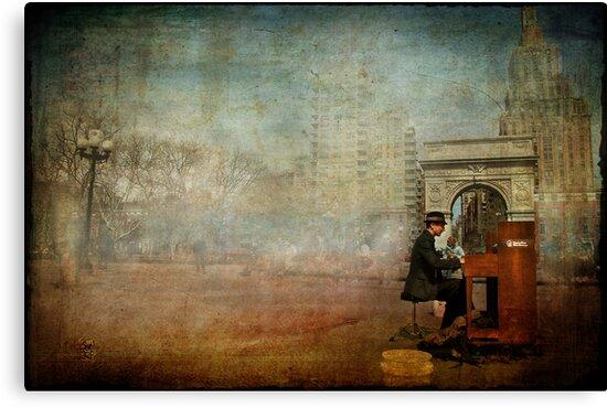 Washington Square Melody by Sonia de Macedo-Stewart