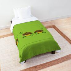 Emoji Turtles Comforter