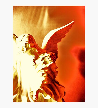 One of the Four Angels:And the four angels were loosed! Photographic Print