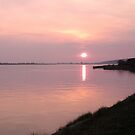 Sunset over the Taw by Hucksty