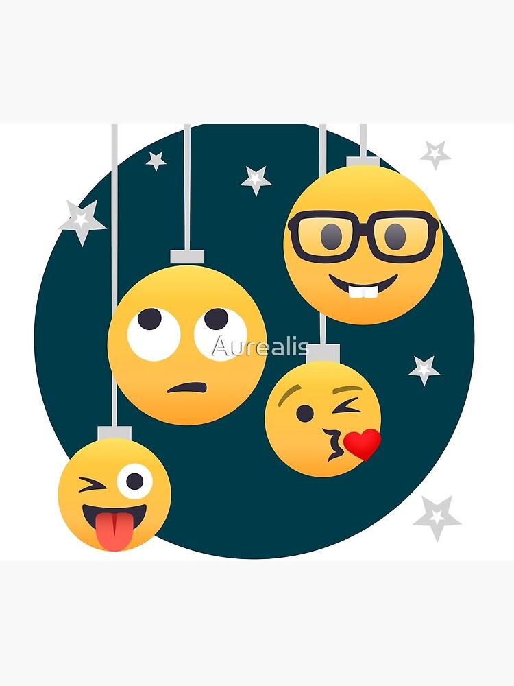 Nerdy X-mas Emoji by Aurealis