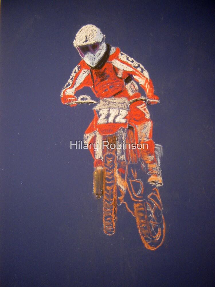 The Biker not the Bike by Hilary Robinson
