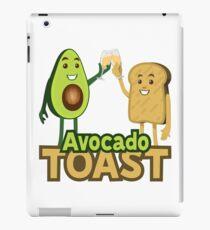 Avocado Toast Emoji JoyPixels Superfood Avocado saying iPad Case/Skin