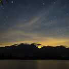 Starry Night over Lake Quinault by Jim Stiles