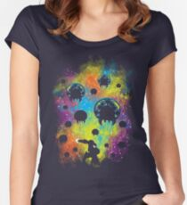 Galactic Warrior Women's Fitted Scoop T-Shirt