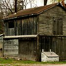 An Old Welding Shack.............for Wrought Iron.. by Larry Llewellyn