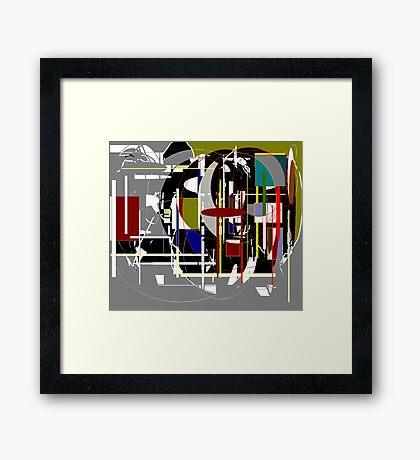 The Traffic Framed Print