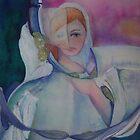 Spiritual Dove Lady (Winter) by Ellen Keagy