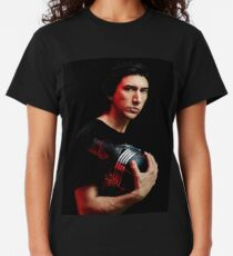 Cover of Rolling Stone Adam Driver December 2019 Classic T-Shirt