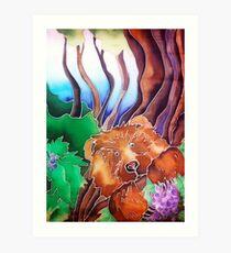 Fruit Bear Art Print