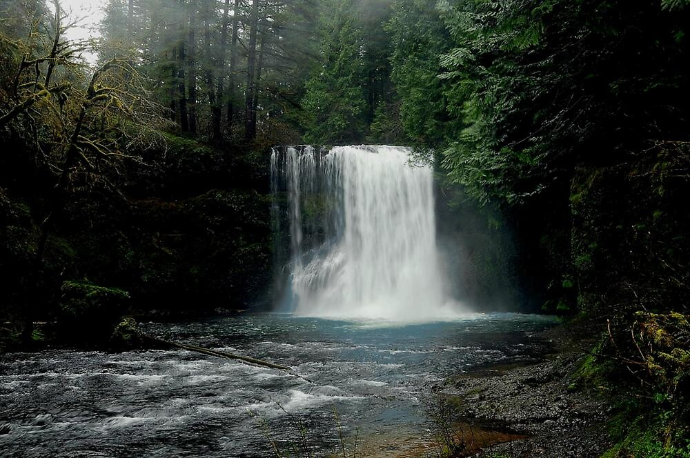 SILVER FALLS by RoseMarie747