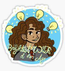 Brightest Witch Sticker