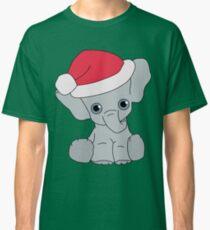 Christmas Elephant Classic T-Shirt
