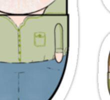LitPills - Erik Larson (Modern Non-Fiction Series) Sticker