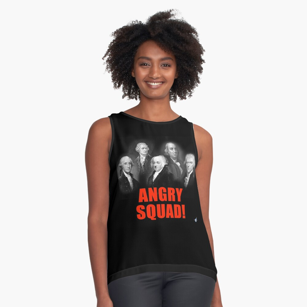 Angry Squad!  Sleeveless Top